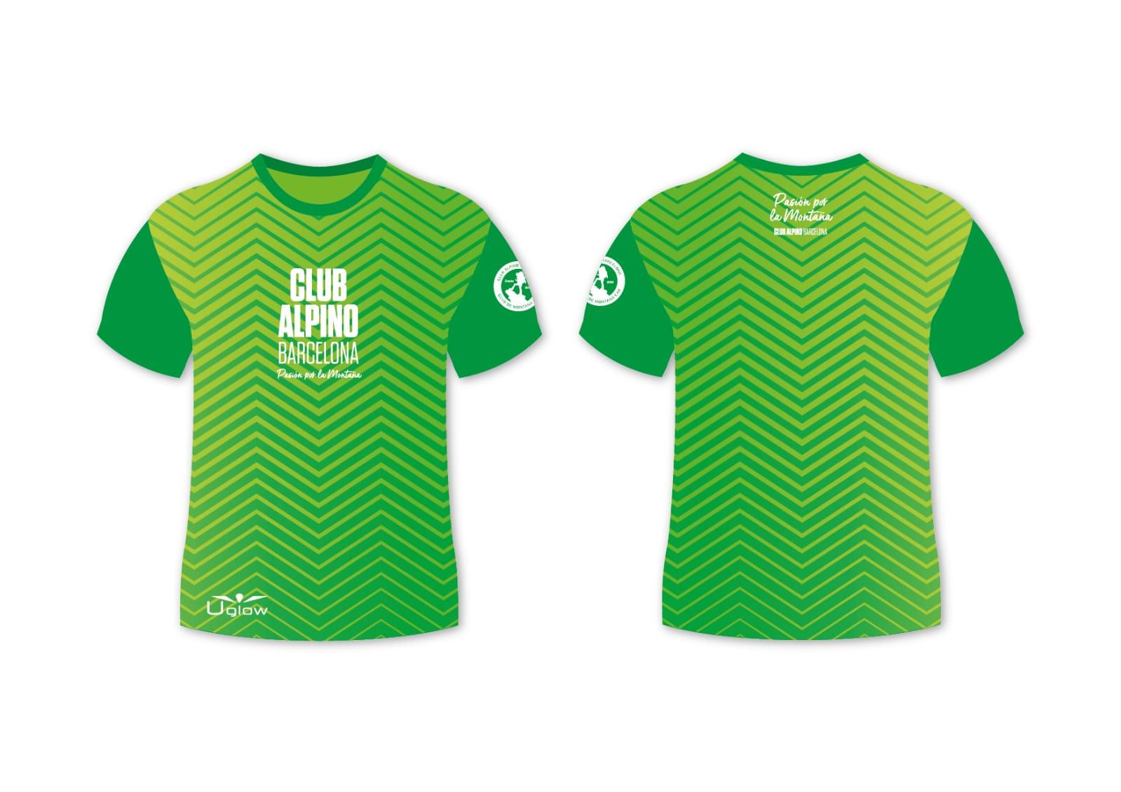 diseño camiseta trail
