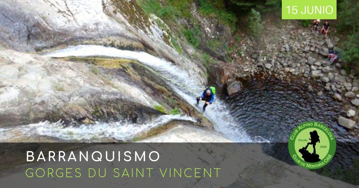Barranquismo Gorges Du Saint Vincent