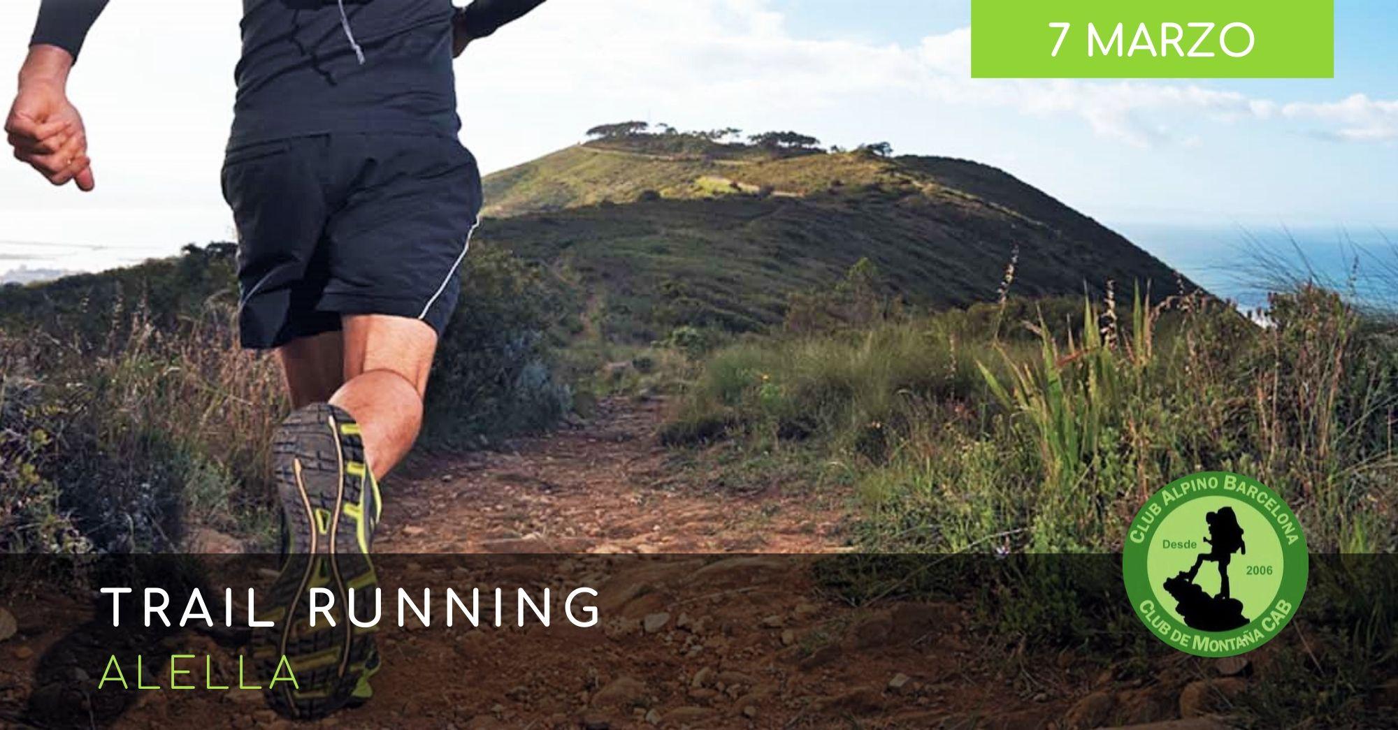 trail running alella