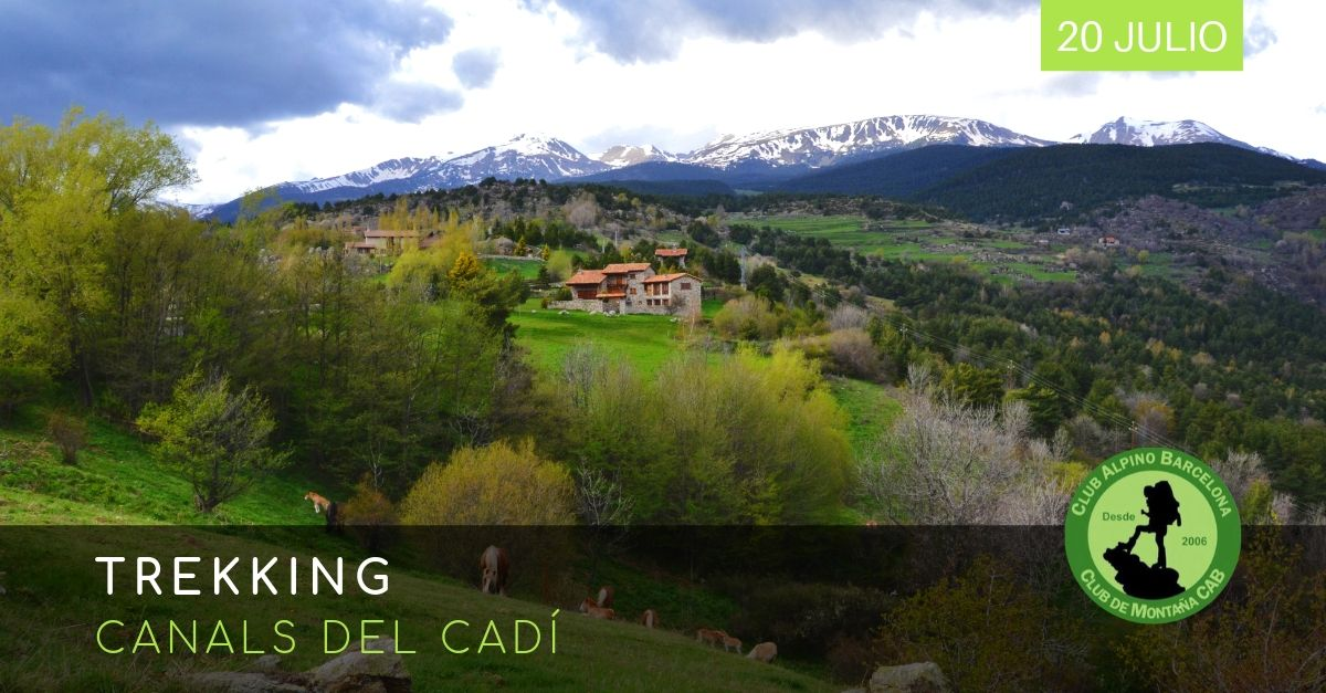 Trekking Canals del Cadí