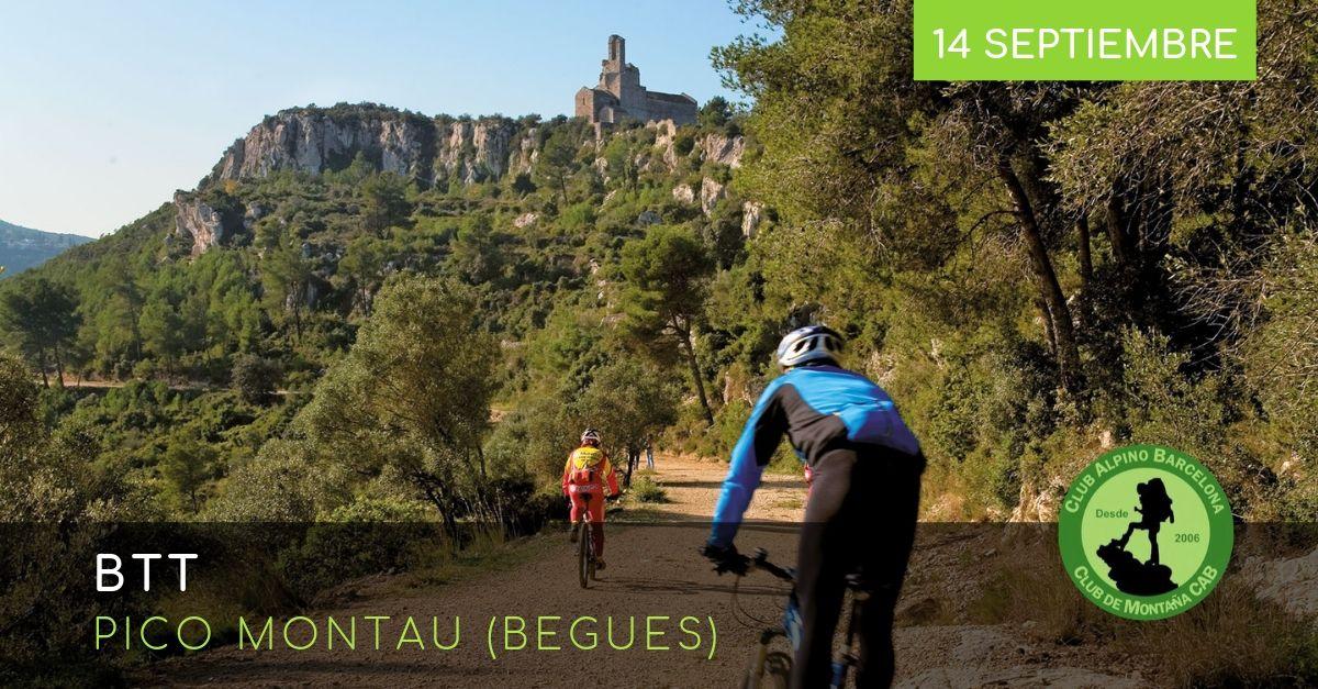 BTT Pico Montau (Begues)