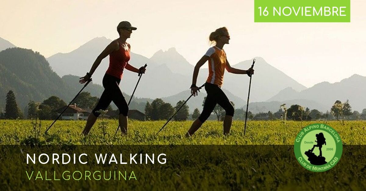 NORDIC WALKING VALLGORGINA