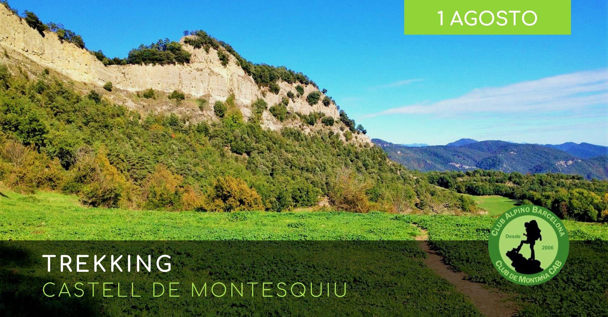 Trekking-Castell de Montesquiu
